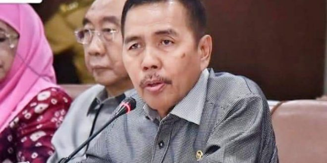 H Ishak Mekki anggota DPR RI asal Sumsel. FOTO : MPRRI FOR VIRALSUMSEL.COM