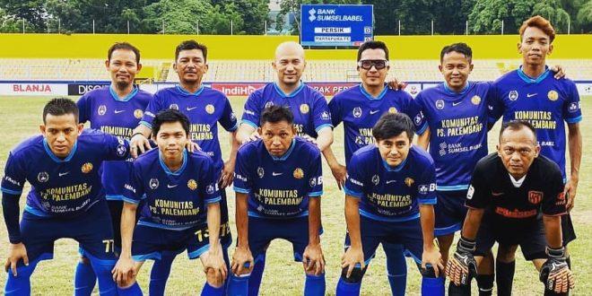 Komunitas PS Palembang siap jajal Selebritis FC. FOTO : VIRALSUMSEL.COM