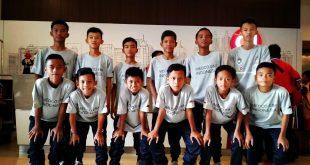 Tim Medco FA Sumsel sebelum tampil hadapi ISA Sidoarjo. FOTO : VIRALSUMSEL.COM