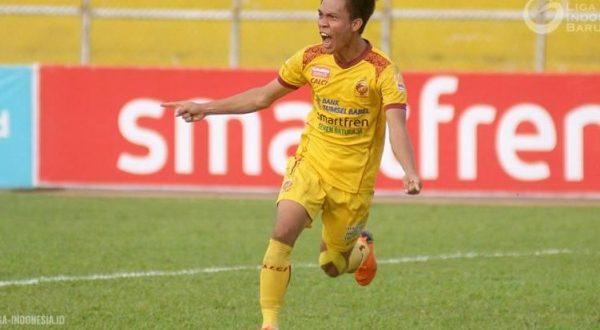Yogi Rahardian mantan winger Sriwijaya FC. FOTO : NET