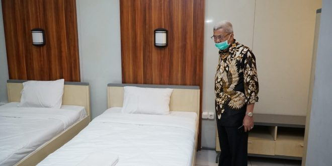 Wagub Sumsel H Mawardi Yahya jadi ketua OPD Center. FOTO : VIRALSUMSEL.COM
