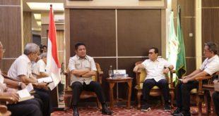 Gubernur Herman Deru bersama Walikota Lubuklinggau, SN Prana Putra Sohe. FOTO : VIRALSUMSEL.COM