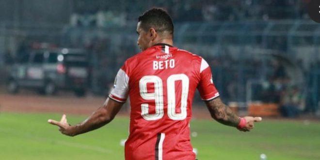 Alberto Goncalves penyerang Madura United gabung Sriwijaya FC. FOTO : IG