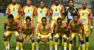 Skuat Sriwijaya FC saat berlaga di Liga Champions Asia. FOTO :VIRALSUMSEL.COM