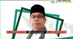 Sutami Ismail Ketua Fraksi PKB DPRD Kota Palembang. FOTO :VIRALSUMSEL.COM
