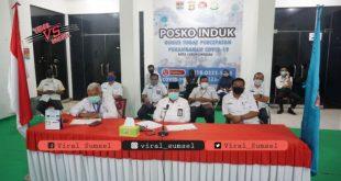 Wakil Wali Kota Lubuklinggau, H Sulaiman Kohar mengikuti rakor tentang Pemberantasan Korupsi Terintegritas. FOTO : VIRALSUMSEL.COM