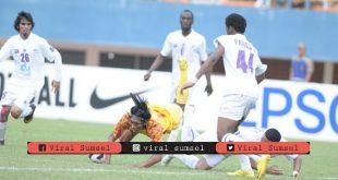 Pertandingan Sriwijaya FC vs Al Ain pada putaran kedua playoff LCA 2011. FOTO : DOK SFC