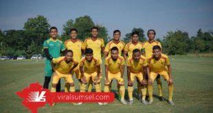 Starting eleven Sriwijaya FC di ajang Liga 2 musim 2020. FOTO :VIRALSUMSEL.COM