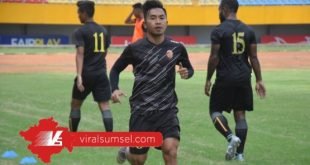 Rahel Radiansyah pemain sayap Sriwijaya FC. FOTO :VIRALSUMSEL.COM