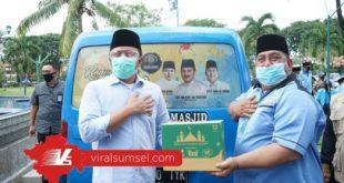 H Herman Deru Gubernur Sumsel meluncurkan program grebek masjid. FOTO :VIRALSUMSEL.COM