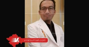dr Haikal Mubarak Ketua Harian PDUI Sumsel. FOTO :VIRALSUMSEL.COM