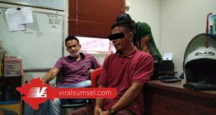 Tim Sunyi Senyap Unit III Subdit III Jatanras Ditreskrimum Polda Sumsel sukses meringkus warga sipil yang mengaku anggota polisi.. FOTO : VIRALSUMSEL.COM