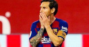 Lionel Messi penyerang Barcelona. FOTO : IG BARCELONA
