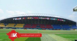 Stadion Gelora Sriwijaya, Jakabaring Sport City, Palembang. FOTO : VIRALSUMSEL.COM