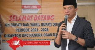 AW Noviadi Mawardi Calon Bupati Kabupaten Ogan Ilir. FOTO :VIRALSUMSEL.COM