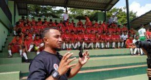 Firman Utina pelatih Timnas Pelajar U-15. FOTO :DETIK