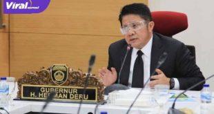 Herman Deru Gubernur Sumatera Selatan. FOTO :VIRALSUMSEL.COM