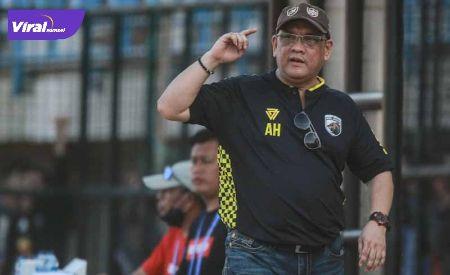 Achmad Haris Manajer Tim Muba Babel United. FOTO : VIRALSUMSEL.COM