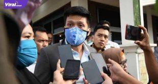 AW Noviadi Mawardi Calon Bupati Kabupaten Ogan Ilir beri keterangan pada awak media. FOTO :VIRALSUMSEL.COM
