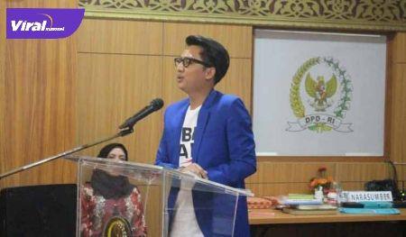 H Handry Pratama Putra Ketua DPD KNPI Palembang. FOTO :VIRALSUMSEL.COM