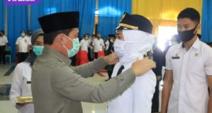 Walikota Lubuklinggau, SN Prana Putra Sohe melantik 157 ANS di lingkungan Pemkot Lubuklinggau. FOTO : VIRALSUMSEL.COM
