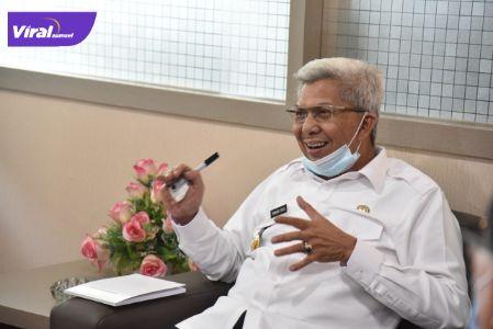 H Mawardi Yahya Wakil Gubernur Sumatera Selatan. FOTO :VIRALSUMSEL.COM