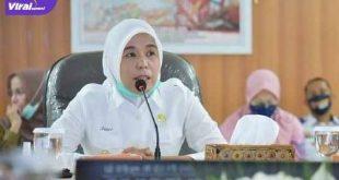 Wakil Walikota Palembang Fitrianti Agustinda. FOTO :VIRALSUMSEL.COM