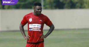Godstime Egwuatu Ouseloka defender naturalisasi WNI asal Nigeria segera gabung Muba Babel United. FOTO : NET