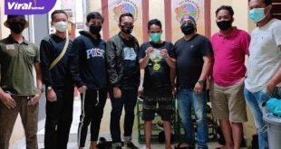 Iwan Fales diamankan Petugas Satresnarkoba Polres Muratara. FOTO : VIRALSUMSEL.COM