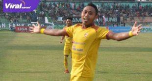 Ahmad Ihawan saat masih berseragam Sriwijaya FC. FOTO : VIRALSUMSEL.COM