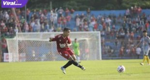 "Nurdian ""Putra"" Chaniago winger Persijap Jepara. FOTO : VIRALSUMSEL.COM"