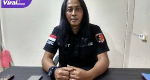 Anggota Unit I Subdit III Jatanras Polda Sumsel Heri Kusuma alias Hendri Gondrong. FOTO : VIRALSUMSEL.COM