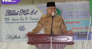 H Mawardi Yahya Wakil Gubernur Sumatera Selatan. FOTO : VIRALSUMSEL.COM