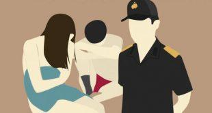 Ilustrasi pasangan buka suami isteri ditangkap polisi. FOTO : ISTIMEWA