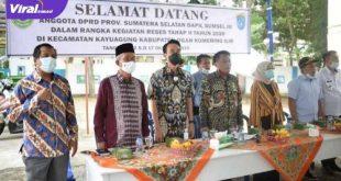 Anggota DPRD Dapil Sumsel III saat reses di Kabupaten OKI. FOTO : VIRALSUMSEL.COM
