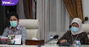 Ketua Bunda PAUD Sumsel, Feby Deru bersama Ketua Pokja Bunda PAUD Sumsel Fauziah Mawardi Yahya. FOTO : VIRALSUMSEL.COM