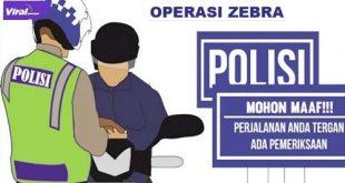 Ilustrasi Operasi Zebra. FOTO : ISTIMEWA