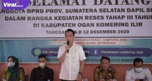 H Muchendi Mahzarekki Ishak Mekki Wakil Ketua DPRD Provinsi Sumsel. FOTO :VIRALSUMSEL.COM