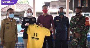 Amaliah Sobli S.KG MBA Anggota DPD RI Dapil Sumsel reses di Desa Talang Taling, Kecamatan Gelumbang, Kabupaten Muara Enim. FOTO : VIRALSUMSEL.COM