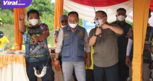 Bupati Muba, Dr H Dodi Reza Alex Noerdin ikuti Fun Fishing With DRA di Bayung Lencir. FOTO : VIRALSUMSEL.COM