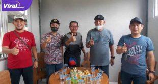 Dedi Ferdiansyah Kepala Pasar Rakyat Sako Sematang Borang. FOTO %VIRALSUMSEL.COM