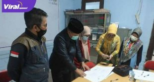 Dekan FDK UIN Raden Fatah, Dr. Achmad Syarifudin, MA dan Ketua PWI, Firdaus Komar.FOTO :VIRALSUMSEL.COM