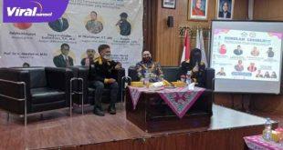 Anggota DPRD Sumsel M Oktafiansyah jadi nara sumber sekolah legislatif di UIN Raden Fatah Palembang. FOTO :VIRALSUMSEL.COM