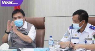 Sekda Sumsel H Nasrun Umar Pimpin Rapat Pembangunan Taman, Box Culvert dan LPJU disepanjang jalur LRT. FOTO :VIRALSUMSEL.COM