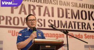 Firdaus Hasbullah Ketua BPOKK DPD Partai Demokrat Sumsel. FOTO : VIRALSUMSEL.COM