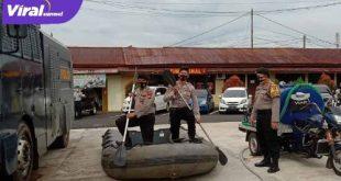 Personil Polres Mura cek kesiapan peralatan untuk Siaga bencana. FOTO :VIRALSUMSEL.COM