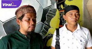 Ketua Umum Singa Mania Yayan Hariansyah bersama Ketua Umum S-MAN Eddy Ismail. FOTO : VIRALSUMSEL.COM