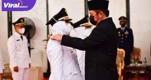 Ir Hj. Ratna Mahmud-Hj. Suwarti telah resmi menjabat sebagai Bupati Wakil Bupati Mura massa bakti 2021-2026. FOTO : VIRALSUMSEL.COM