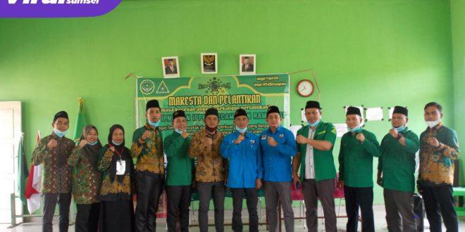 IPNU PAC Kecamatan Rambutan dan IPPNU PAC Kecamatan Rambutan melaksanakan Makesta sekaligus melakukan Pelantikan Anggota. FOTO : VIRALSUMSEL.COM