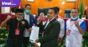 Herman Toni resmi menjadi Ketua Umum KONI Kabupaten Banyuasin. FOTO : VIRALSUMSEL.COM